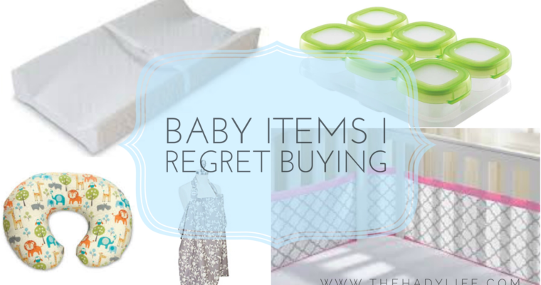 Baby Items Not Worth Buying