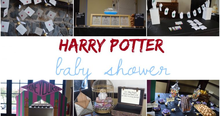 How to Throw a Harry Potter Inspired Baby Shower