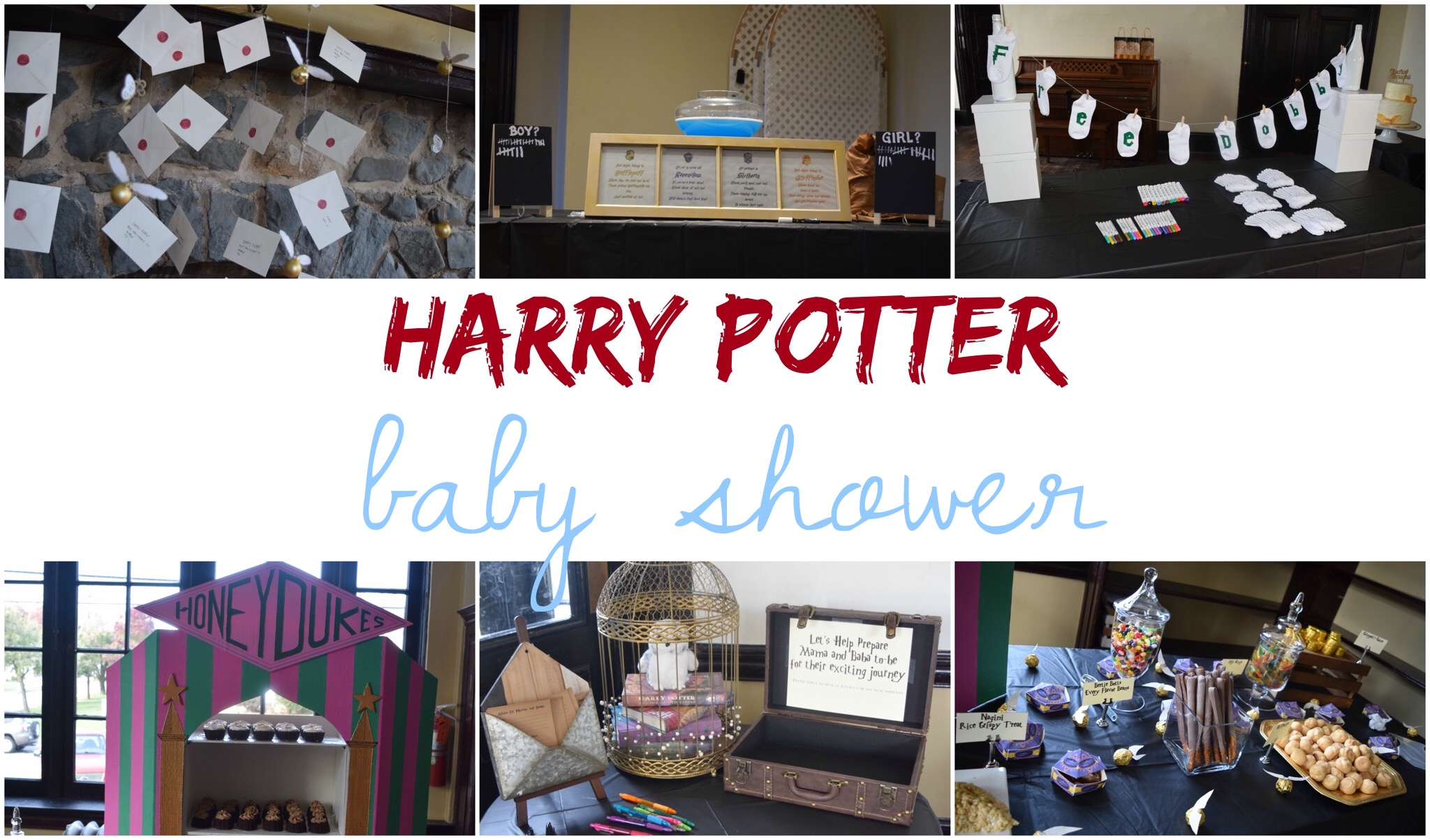 How To Throw A Harry Potter Inspired Baby Shower The Hady Life