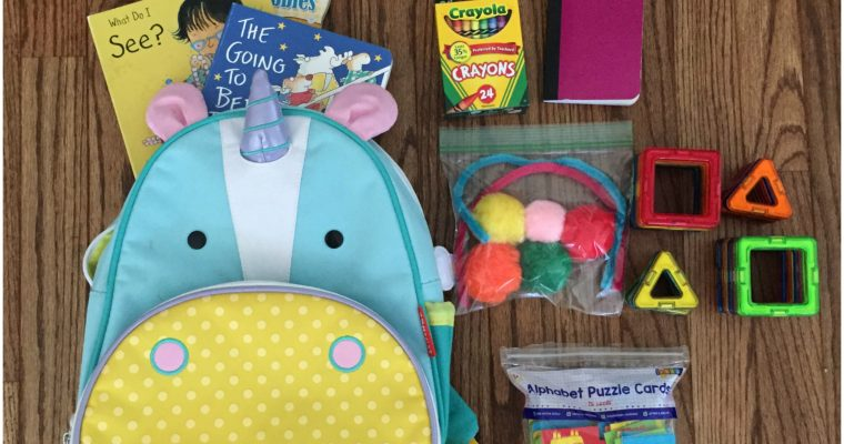 How to Keep your Toddler busy on Airplane